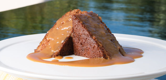 Calypso Grill Sticky Toffee Pudding